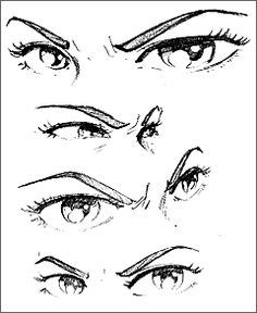 Good Ideas Eye Expressions Eye Drawing Drawing Expressions