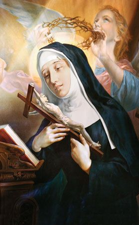 St Rita of Cascia | saintnook.com/saints/ritaofcascia |St Rita of Cascia... Pray for us!