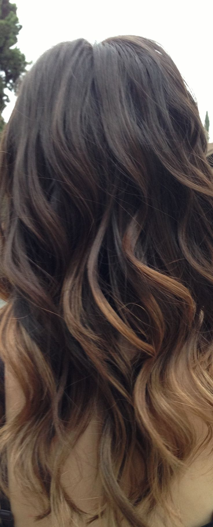 subtle ombre. think I'm gonna do this