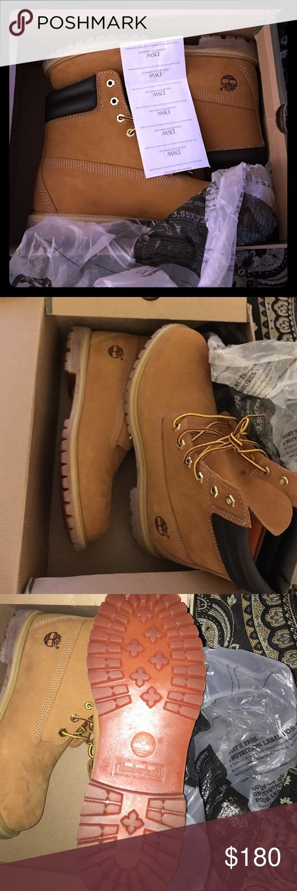 Timberland Boots Waterproof 100% WaterProof. Female Timberland Boots For Sale Size 11. 6in Double Collar. Wheat Color Fresh Out The Box Timberland Shoes Winter & Rain Boots