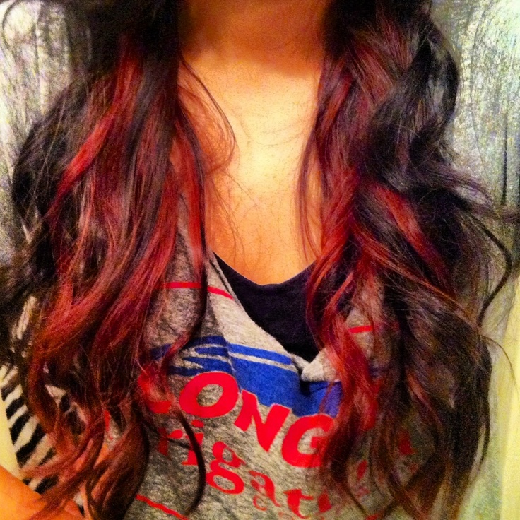45 best peekaboo highlights images on pinterest braids hair dos red peekaboo highlights redpeekaboolights redhair solutioingenieria Images