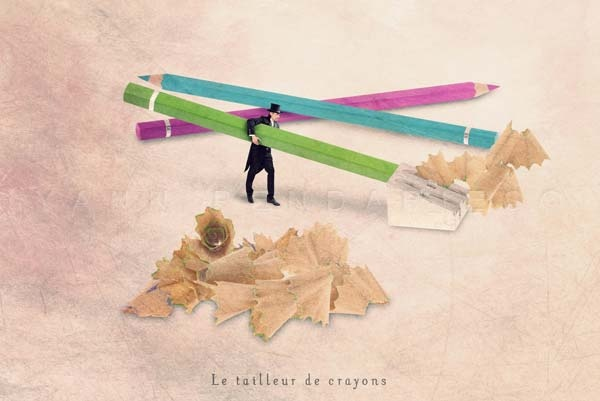 "The pencil sharpener - Fine Art photographie 5x7"" or bigger"