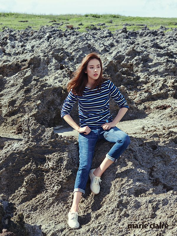 Jo Yoon Hee - Marie Claire Magazine October Issue '14