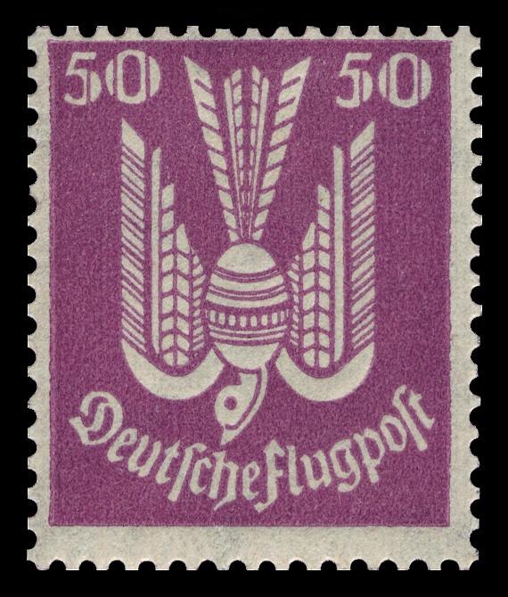 1922 Flugpost Holztaube ' German Airmail stamp