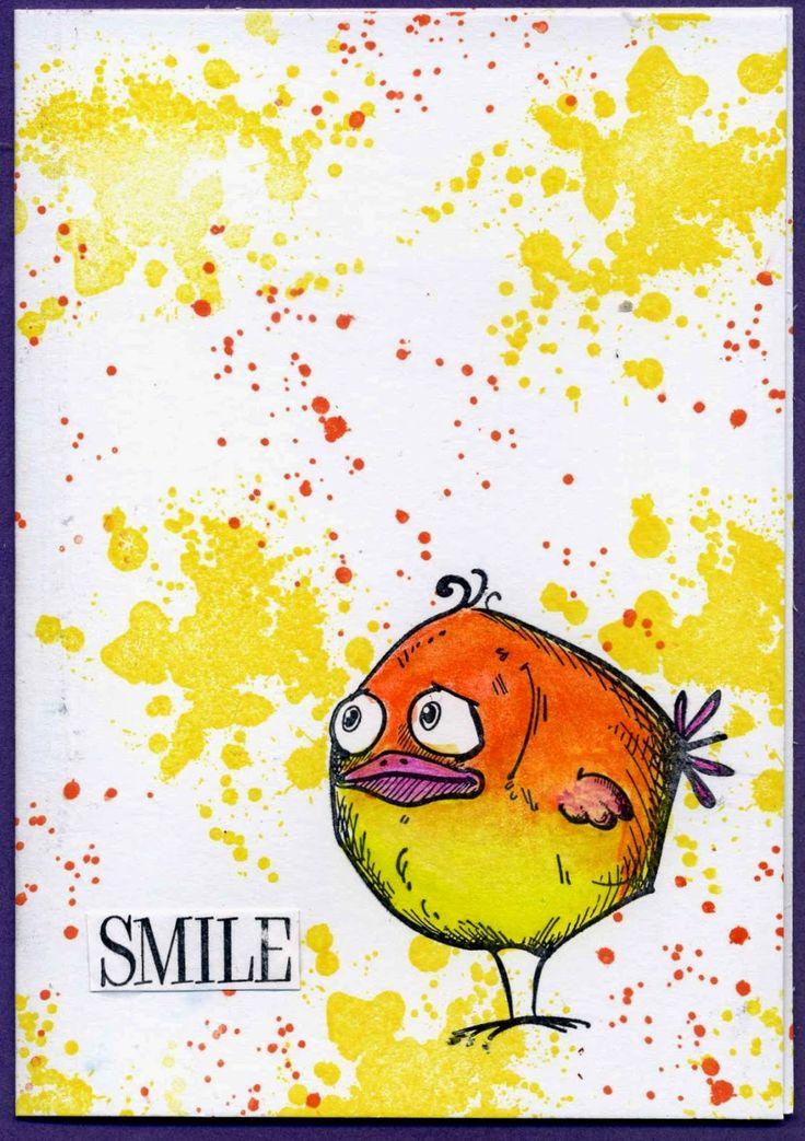 la noche de estampado: Smile!