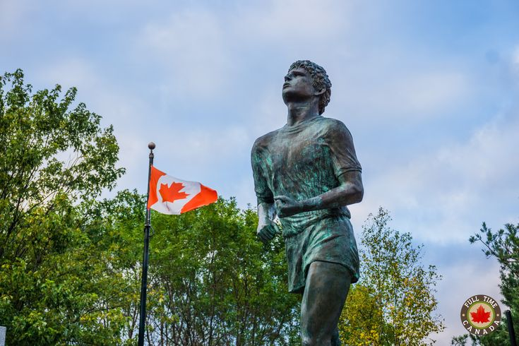 Terry Fox Monument in Thunder Bay.