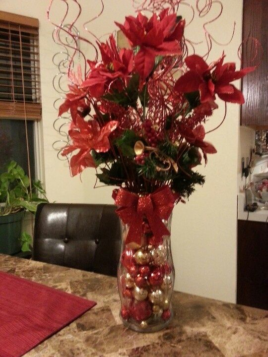 Christmas Table Centerpieces | Christmas table centerpiece | Craft Ideas