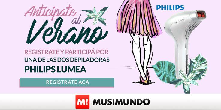 Musimundo.com - ANTICIPATE AL VERANO Y GANTE UNA DEPILADORA PHILIPS LUMEA!