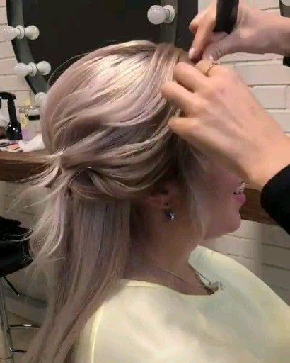 Professional hairstyle video (sweet bun) – #brotchen #frisurenvideo #professional – #new