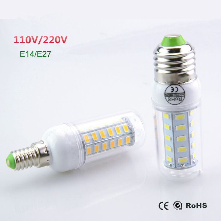 Lampada Led Lamp 110V 127V 220V E27 E14 Led Light 5730 SMD Bombillas LED Bulb Candle Luz Ampoule Chr-  Item Type: LED Bulbs  Voltage: 110-240V  Occasion: living room  Led Bulb Type: Corn Bulb  Beam Angle(°): 360°  Number of LED Chip: 24 pcs  Base Type: E14  Color Temperature: Warm White (2700-3500K)  Shape: Bar  Power Tolerance: 1%  LED Chip Model: 5730  Brand Name: Foxanon  Certification: CCC,CE,FCC,RoHS  Average Life (hrs): 100,000  LED Chip Brand: OEM  Length: 79-102mm -   Related…