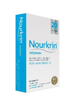 Nourkrin Woman - 1 Month Supply 60 Tablets Up to 60% of women will experience hair growth disruption YOU ARE NOT ALONE. Yet no matter what type of female hair loss occurs, the Hair Growth Cycle is always affected. The Hair Growth Cycle can be  http://www.MightGet.com/january-2017-11/nourkrin-woman--1-month-supply-60-tablets.asp