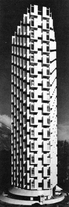 Tours de l'Île Vert, Grenoble, France, 1967