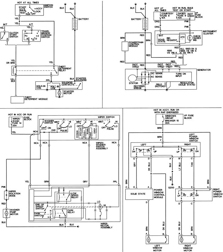 13 best manuals images on pinterest electrical wiring diagram chevrolet s10 wiring diagram  truck wiring diagrams