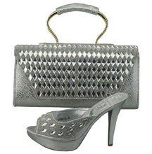 Italienische Schuhe Mit Passender Tasche Set Hohe Qualität Italien Schuh Und tasche Für Hochzeit Afrikanische Frauen Schuhe Und Tasche Set Entsprechen 1308-34 //Price: $US $62.78 & FREE Shipping //     #dazzup