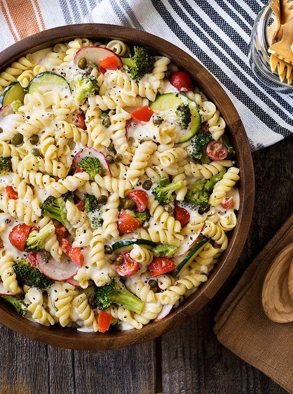Cold Pasta Primavera Salad. | Salads | Pinterest