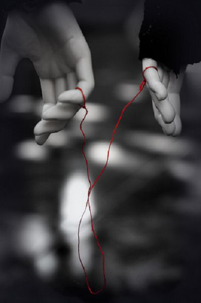 This is, hands-down, my favorite concept of eastern culture. The legend goes that you have an invisible red string of fate tied to your pinky that leads to your soul mate.  No matter how far you go or how long you live, you will find each other.