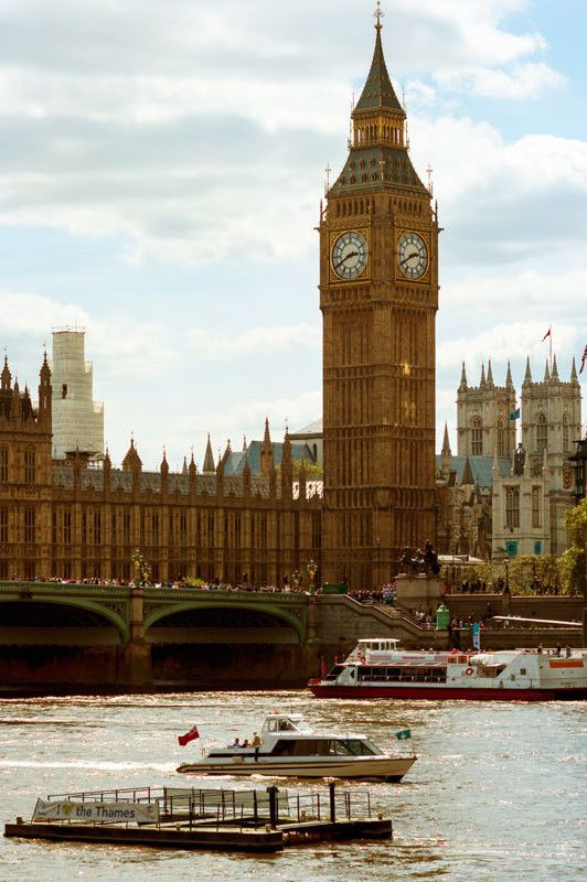 Big Ben, London Photography - Modern Fine Art Print