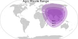 Agni-V can hit multiple targets in all Asian countries, Eastern Europe, parts of North and East Africa.