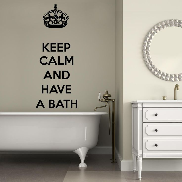 Adesivi da parete Keep Calm and have a Bath Wall Sticker Adesivo da Muro https://www.adesiviamo.it/prodotto/1267/Adesivi-da-parete/Adesivi-da-parete/Keep-Calm-and-have-a-Bath-Wall-Sticker-Adesivo-da-Muro.html