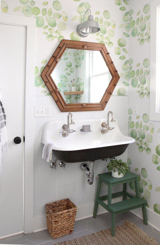 spring leaves in 2018 bathrooms pinterest bathroom bathroom rh pinterest com