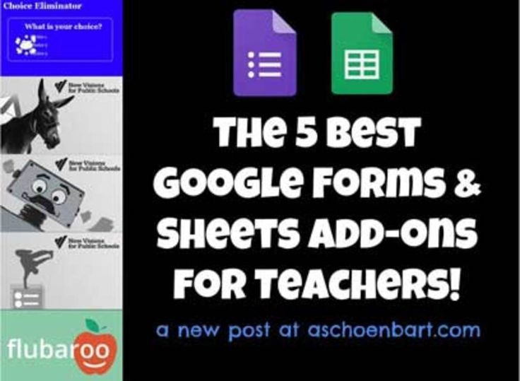 Add-ons provide the little bonus that you often need to really take advantage of the Google Apps for Education platform for free, and with purpose and efficiency.