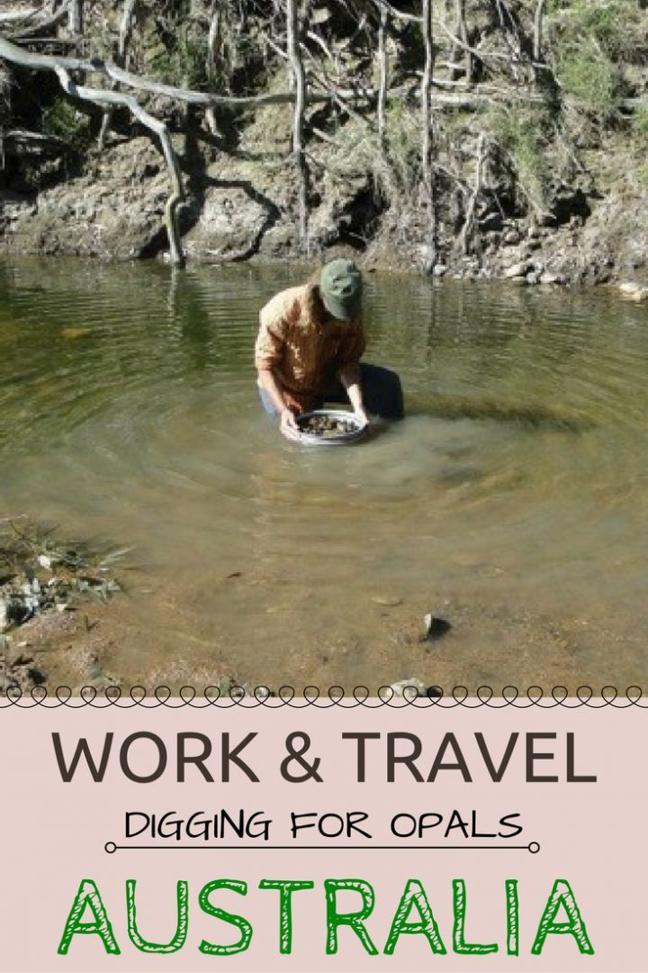 You will be surprised at what is the BEST way to work and travel Australia. Mining!! Read this article for tips to mining in Aussie land.