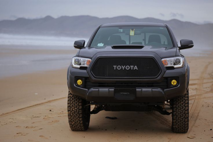 2016 Toyota Tacoma with Mesh grill and OEM toyota letters
