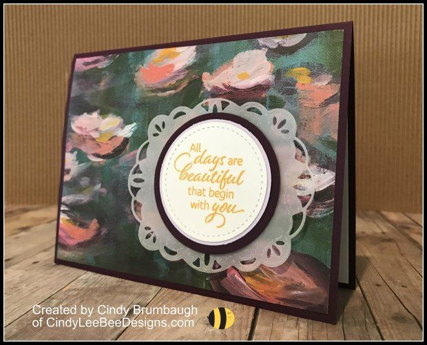 Stampin Up Floral Essence With Perennial Essence Designer Series Paper Stampin Up Stampin Up Cards Flower Cards