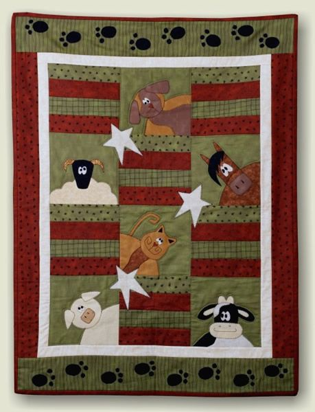 quilt patterns of farm animals   View Full Size   More farm fun baby quilt pattern   Source Link