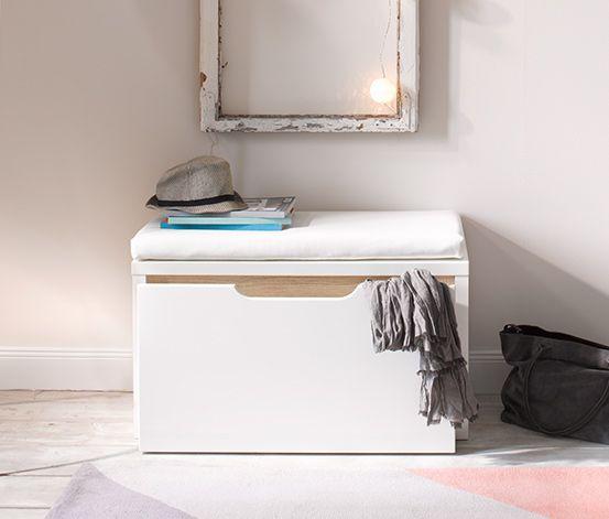 sitzbank mit schublade 109 drawers lockers. Black Bedroom Furniture Sets. Home Design Ideas
