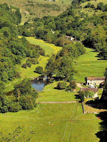 Monsale Dale, Peak District National Park, Derbyshire, England