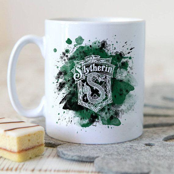 Serpentard mug tasse de la crête de Serpentard par ItalianMagic