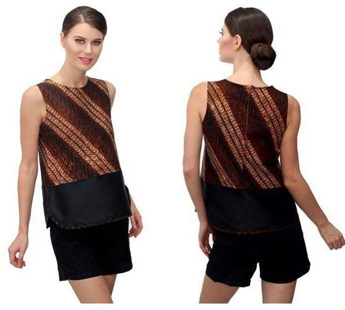 Batik top combination