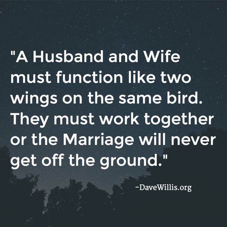Husband Wife Pics With Quotes: Husband Wife Two Wings Same Bird Quote Marriage Dave