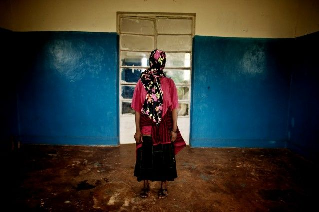 This woman, whose identity has been concealed for security reasons,  was among nearly fifty women who were raped during a campaign by Congolese soldiers that took place on the night of January 1st 2011.