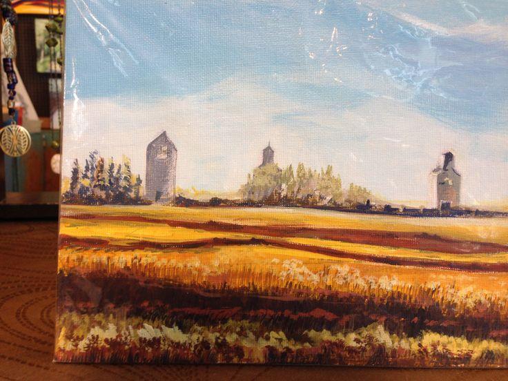 Saskatchewan graineries