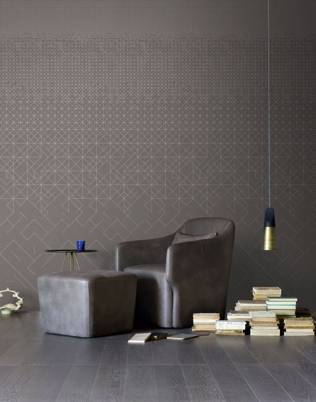 Graphical wallpaper mural shining by londonart italy at behangfabriek sellingpoint and agent