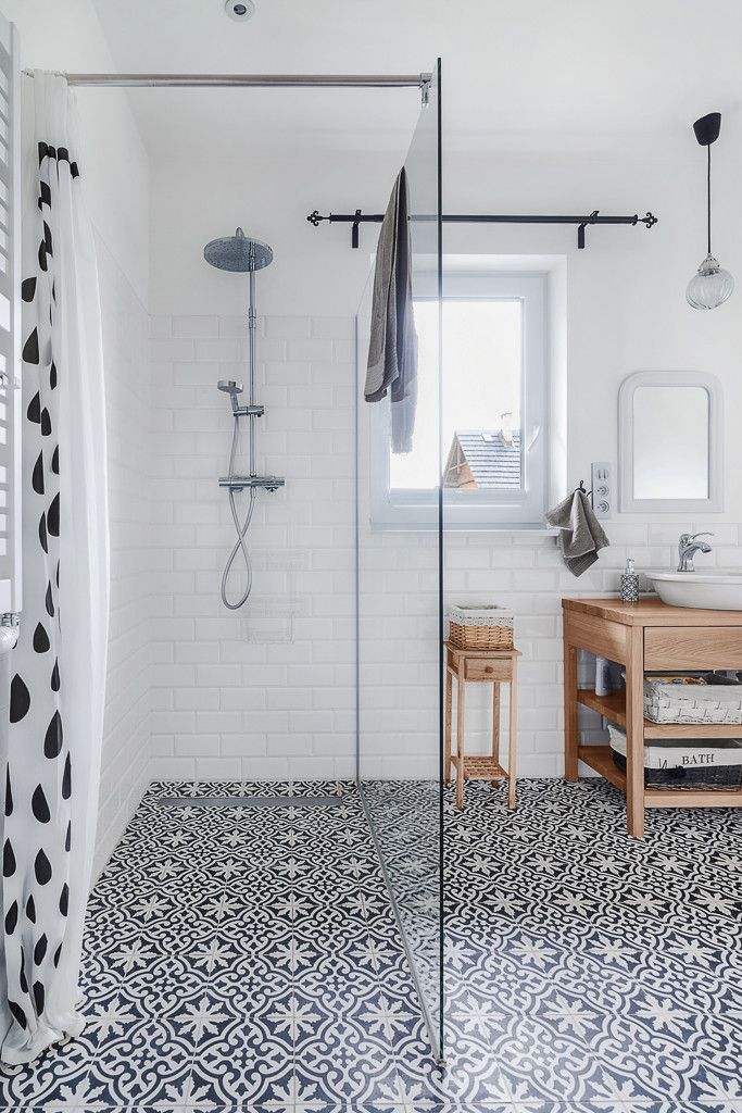 Save or Splurge: Black & White Floor Tile