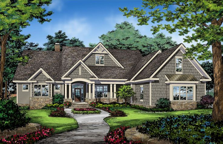 Home Plan The Drake by Donald A. Gardner Architects