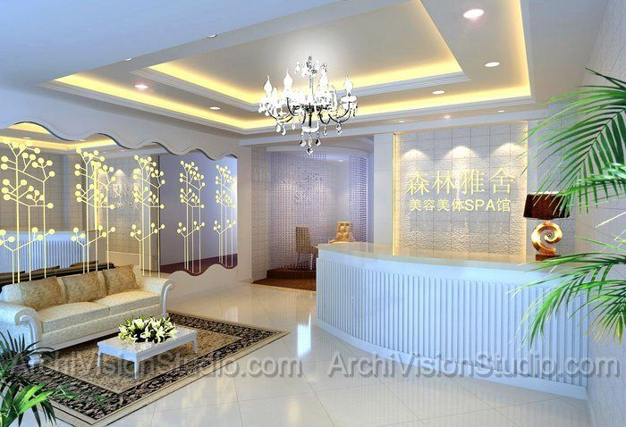 salon designs   beauty salon design salon design: Salons Decor, Salons ...