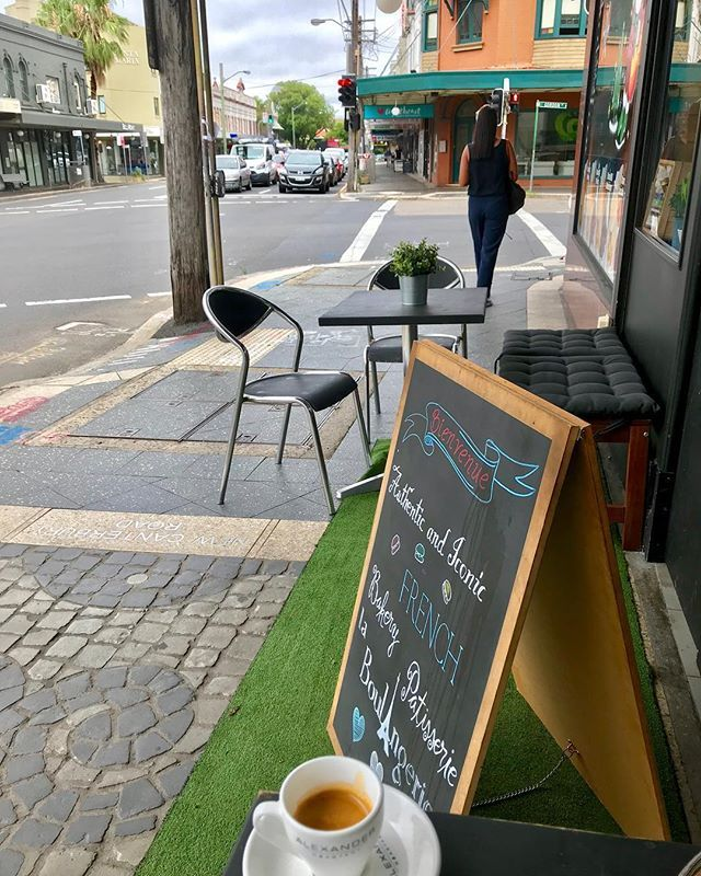 Morning Walk Morning Coffee Marche Matin Cafe Matin At La Boulangerie In Petersham I Exhausted My Spoken French I French New Wave Petersham Morning Coffee