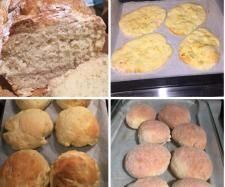 Recipe One Basic Gluten Free Bread Dough 3 Ways!! Instructions for making Naan, Bread rolls or A small loaf of bread by MadameKaz - Recipe of category Breads & rolls