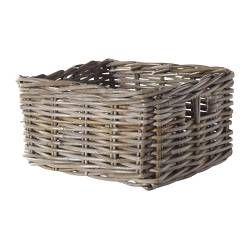 BYHOLMA Mand - grijs, 25x29x15 cm - IKEA