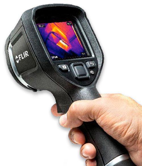 Heat sensing camera for Termite Detection