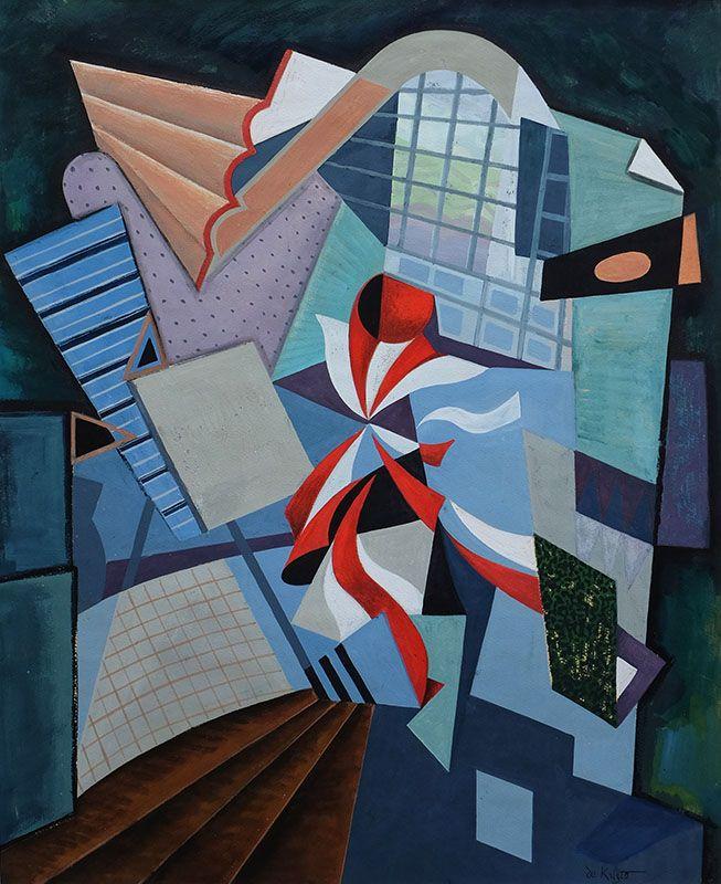 'Composition abstraite' by Bela de Kristo