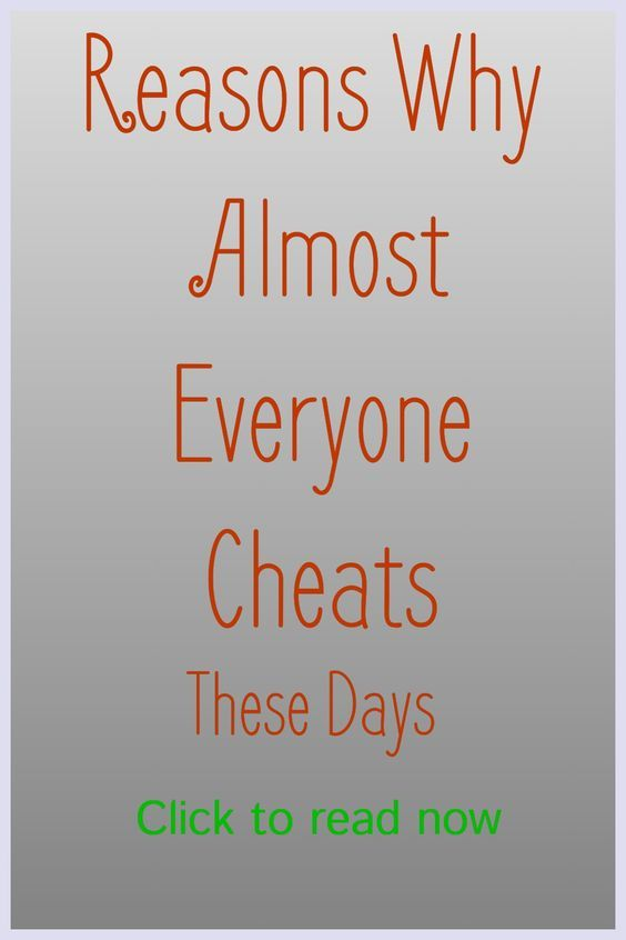 everybody cheats in relationships