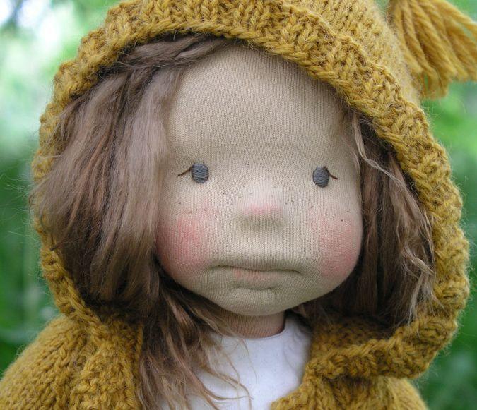 Hermiona – artystyczna lalka szmaciana