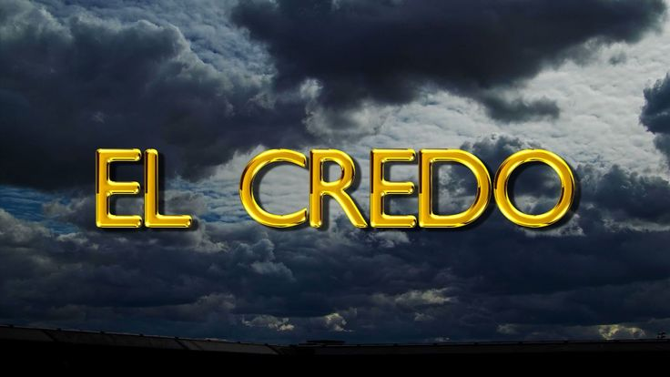 EL CREDO (ORACIÓN) | This I Believe (The Creed) | Prayer | Fe y Salvación