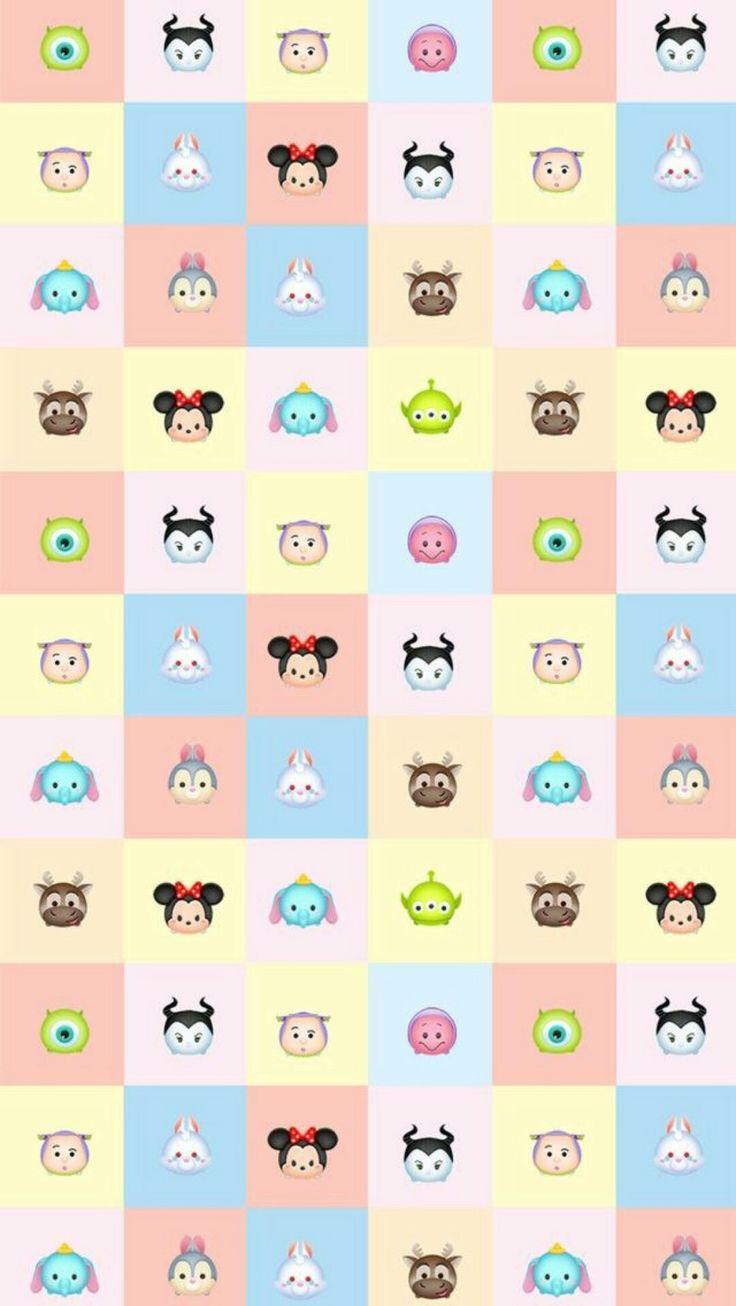 Disney Tsum Tsum Iphone Wallpaper Cute