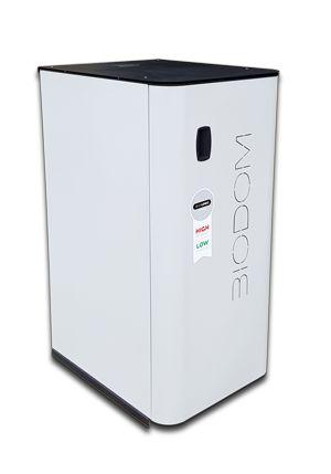 In 2017 met€ 2500,- subsidie op de BIODOM C15, meldingsnummer KA04314  Uw aankoop bedrag is dus 700,- euro  BIODOM C15 - 17 kW cv pelletketel heeft een rendement van 94%  BIODOM C15 moduleert tussen de 5 en 17 kW  Te verwarmen oppervlak tot 200m2    - Voorzien van BIO-LOGIC technologie   - Slechts 120x56x70 cm groot (HxBxD)   - Nominaal vermogen van 17 kW   - Rendement van maar liefst 94%   - Waterinhoud van 42 liter   - Groot reservoir van 45 kg   - Minimaal verbruik 1,4 kg pellets p/...